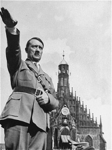Hitler claimed to promote his propaganda in the name of Catholic tradition.
